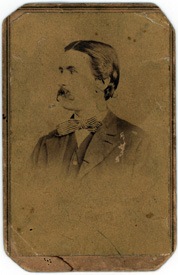 Portrait photograph of Robert M. O'Reilly, circa 1870