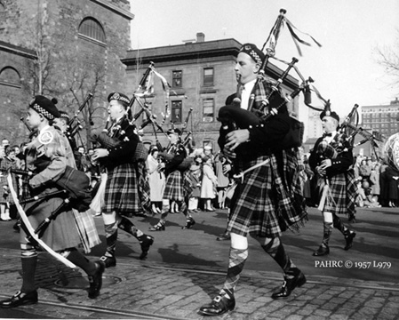 Clan-na-Gael at the St. Patrick's Day Parade, 1957