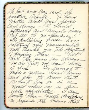 Josephine Walsh diary